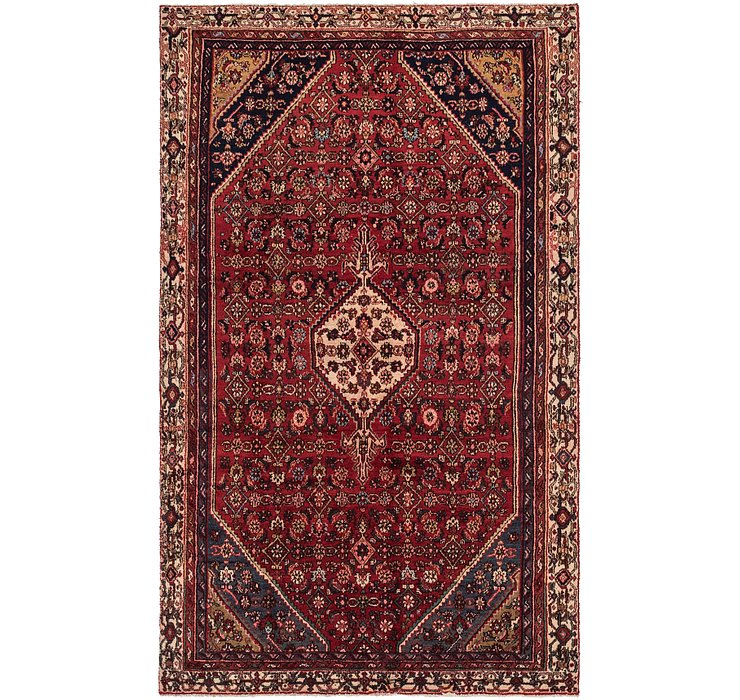 6' 3 x 10' Joshaghan Persian Rug