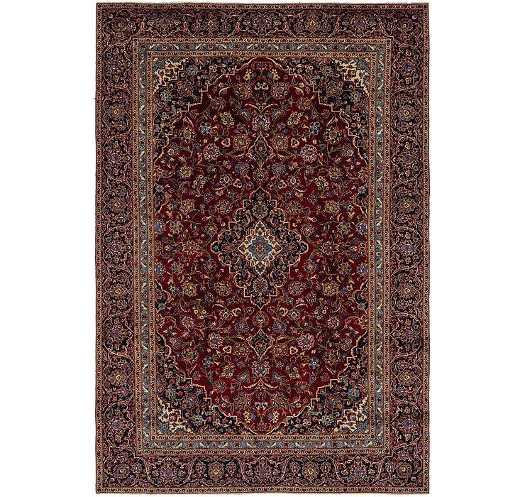 8' 9 x 13' Kashan Persian Rug