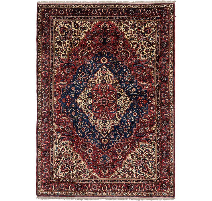 8' 6 x 11' 10 Bakhtiari Persian Rug
