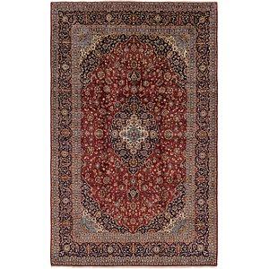 9' 6 x 15' 3 Kashan Persian Rug