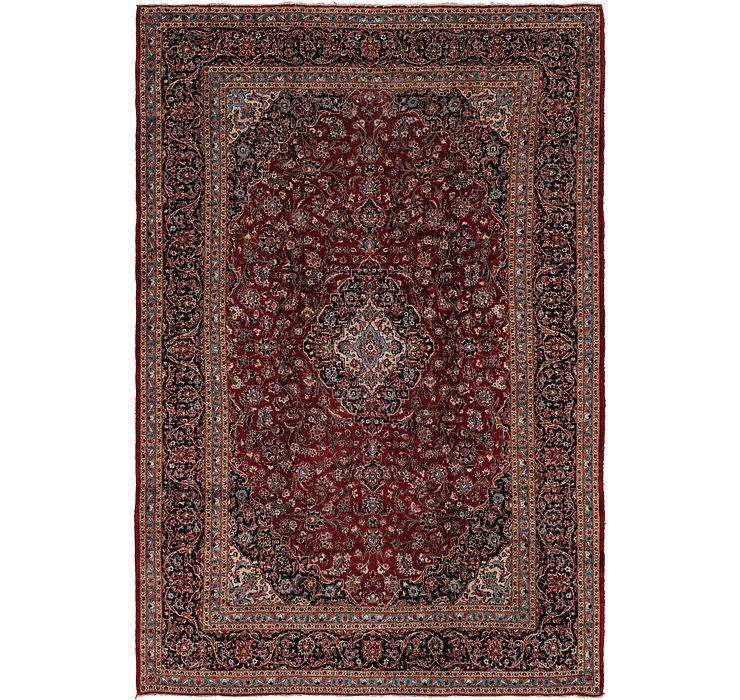 9' 9 x 14' 3 Kashan Persian Rug