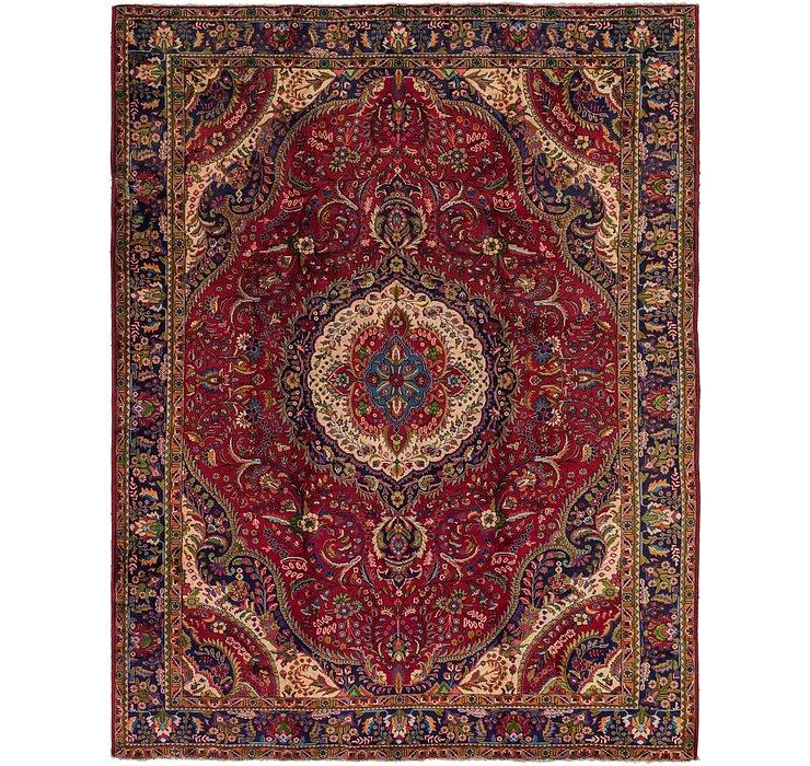 9' 9 x 12' 10 Tabriz Persian Rug