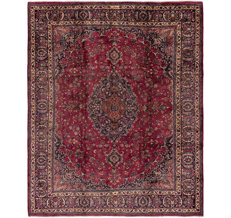 9' 10 x 11' 5 Mashad Persian Rug
