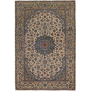 8' 3 x 11' 9 Isfahan Persian Rug