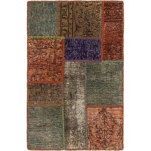 2' 2 x 3' 3 Ultra Vintage Persian Rug