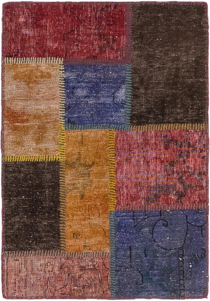 Multicolor 2 X 3 Ultra Vintage Persian Rug Irugs Uk