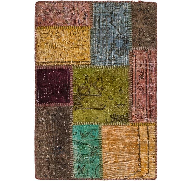 2' x 3' 2 Ultra Vintage Persian Rug