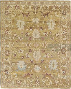 Link to 10' 8 x 13' 7 Oushak Rug item page