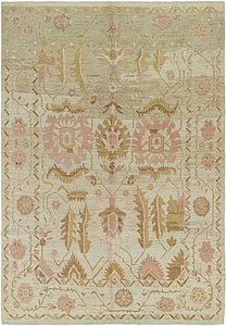 Link to 10' 6 x 15' 3 Oushak Rug item page