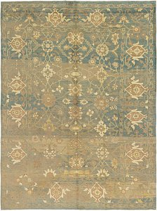 Link to 11' 9 x 15' 9 Oushak Rug item page