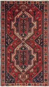 Link to 4' 3 x 7' 6 Hamedan Persian Rug item page