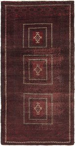 Link to 3' 2 x 6' 5 Balouch Persian Runner ... item page