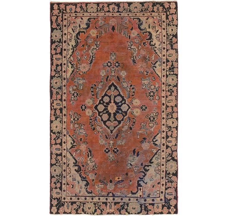 3' 10 x 6' 4 Hamedan Persian Rug