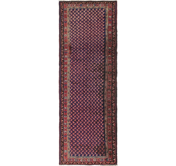 3' 6 x 10' Mahal Persian Runner Rug