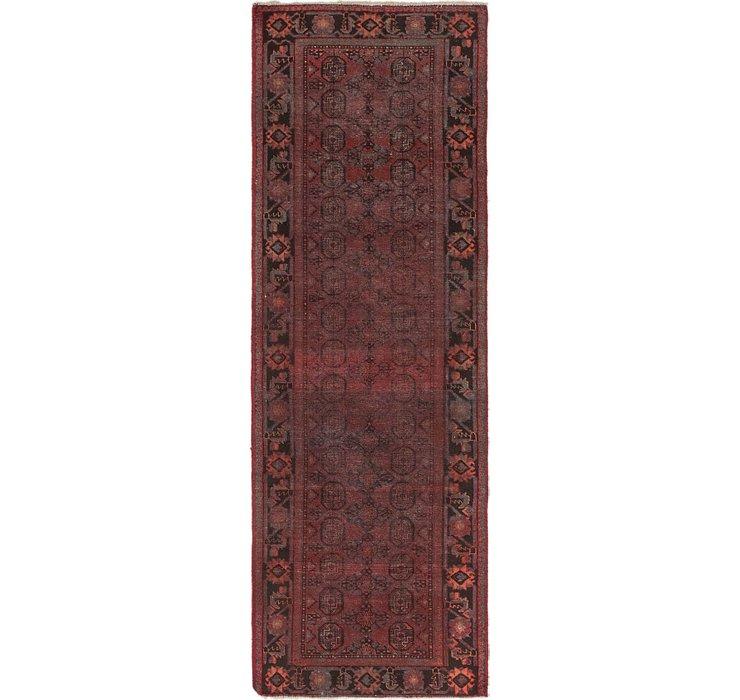 107cm x 310cm Torkaman Persian Runner...