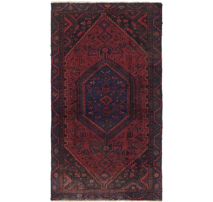 122cm x 218cm Zanjan Persian Rug