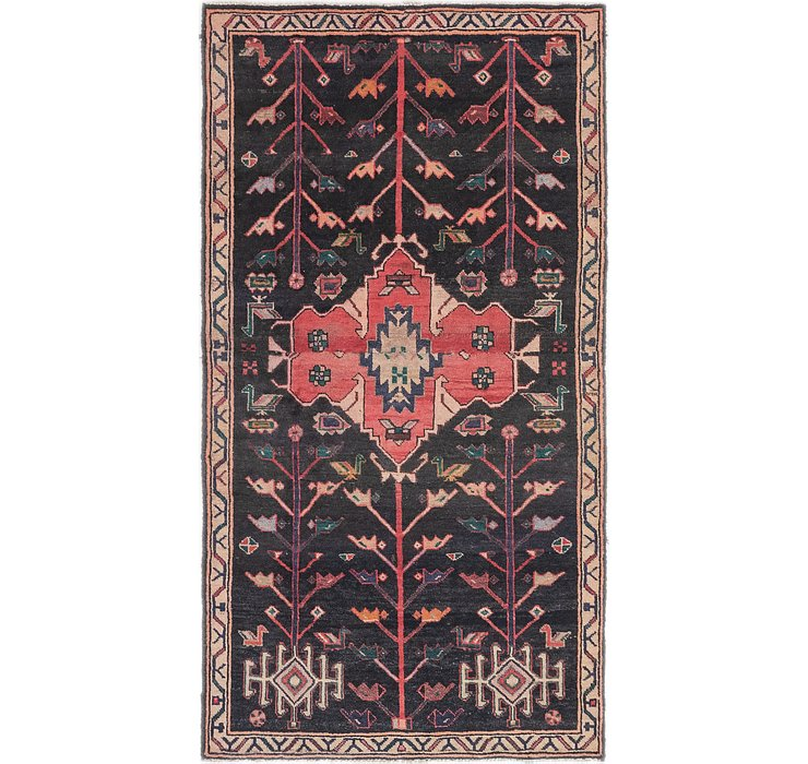 3' 8 x 6' 10 Shiraz Persian Rug