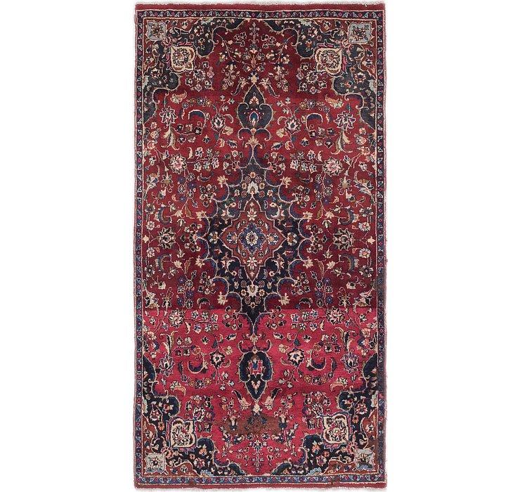 4' x 7' 10 Mashad Persian Runner Rug