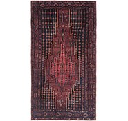 Link to 4' x 7' 9 Mazlaghan Persian Runner Rug