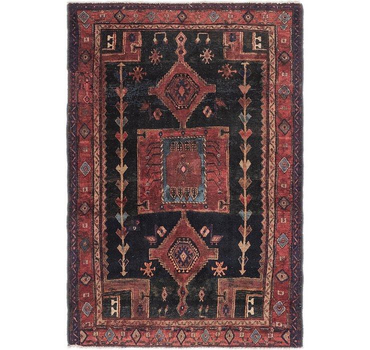 4' 7 x 6' 9 Zanjan Persian Rug
