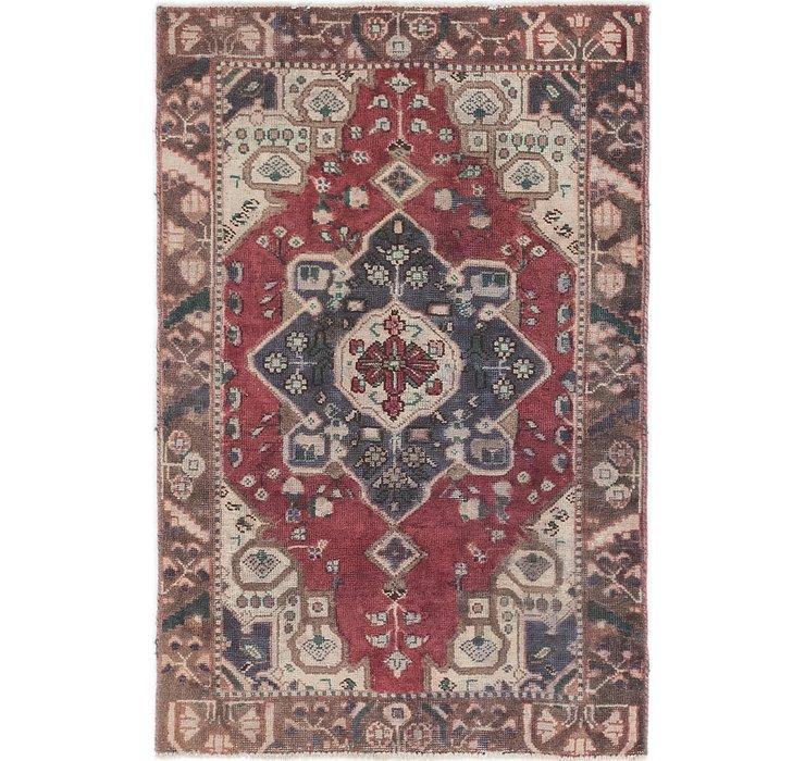 4' x 6' Hamedan Persian Rug