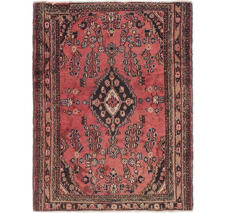4' 4 x 5' 9 Hamedan Persian Rug