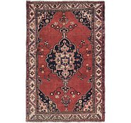 Link to 4' 5 x 6' 8 Hamedan Persian Rug