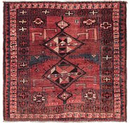 Link to 5' 8 x 6' 5 Shiraz Persian Square Rug