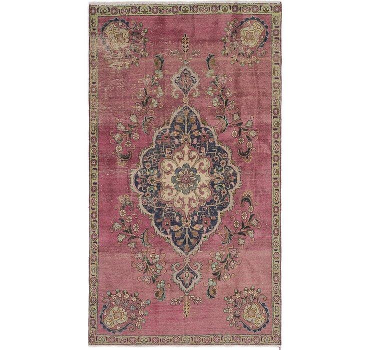 4' 5 x 8' Tabriz Persian Rug