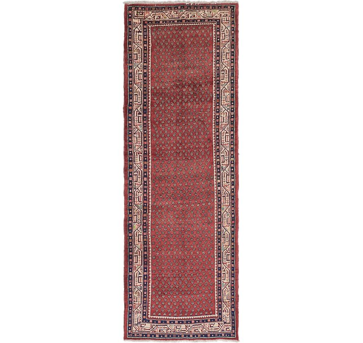 3' 8 x 10' 7 Botemir Persian Runner ...