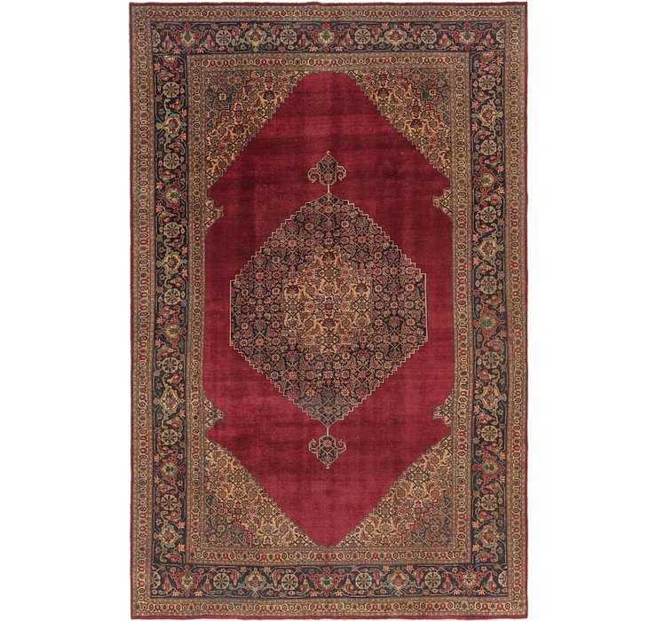 9' 9 x 15' 4 Tabriz Persian Rug