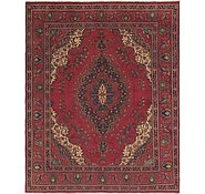 Link to 9' 10 x 12' 4 Tabriz Persian Rug