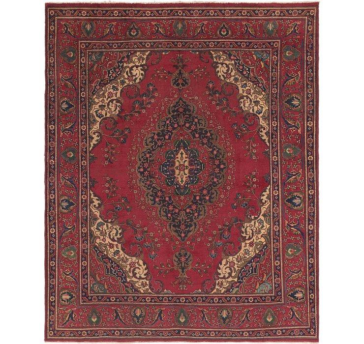 9' 10 x 12' 4 Tabriz Persian Rug