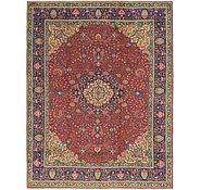 Link to 9' 10 x 13' Tabriz Persian Rug