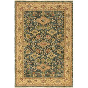 HandKnotted 6' 2 x 9' Classic Agra Oriental Rug