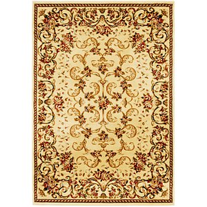 Unique Loom 5' 3 x 7' 7 Classic Aubusson Rug