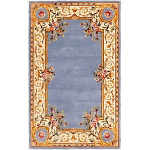 Unique Loom 5' x 8' Classic Aubusson Rug
