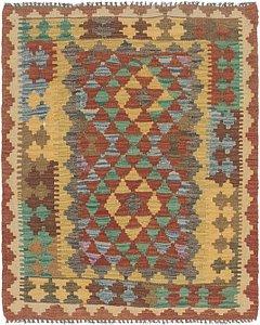 Link to 3' 2 x 3' 9 Kilim Maymana Square Rug item page