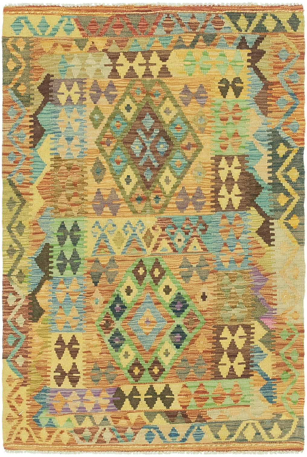 5 x 5 rug. Main Unique Loom 3\u0027 5 X 5\u0027 Kilim Maymana Rug Photo