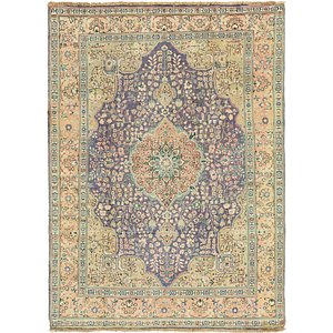Link to 8' 2 x 11' 2 Tabriz Persian Rug item page