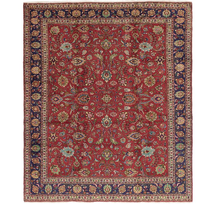 10' 4 x 12' 5 Tabriz Persian Rug