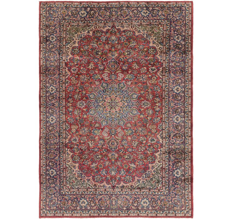 7' 10 x 11' Isfahan Persian Rug