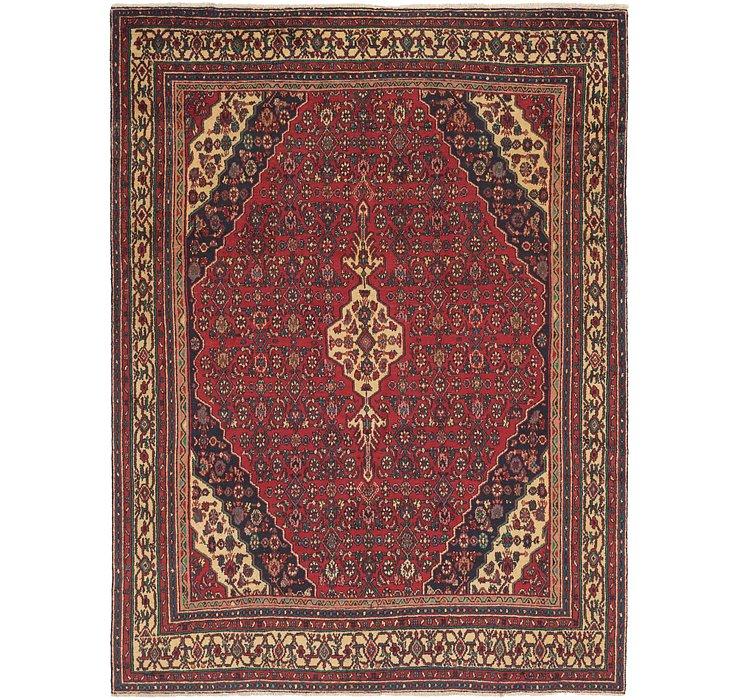 8' 3 x 11' Hamedan Persian Rug