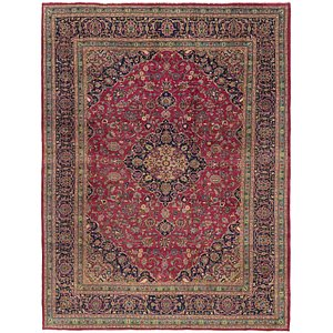 Link to 8' 2 x 11' 2 Mashad Persian Rug item page