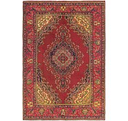 Link to 6' 5 x 9' 5 Tabriz Persian Rug