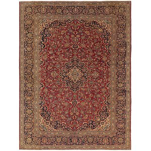Link to 10' x 13' Kashan Persian Rug item page