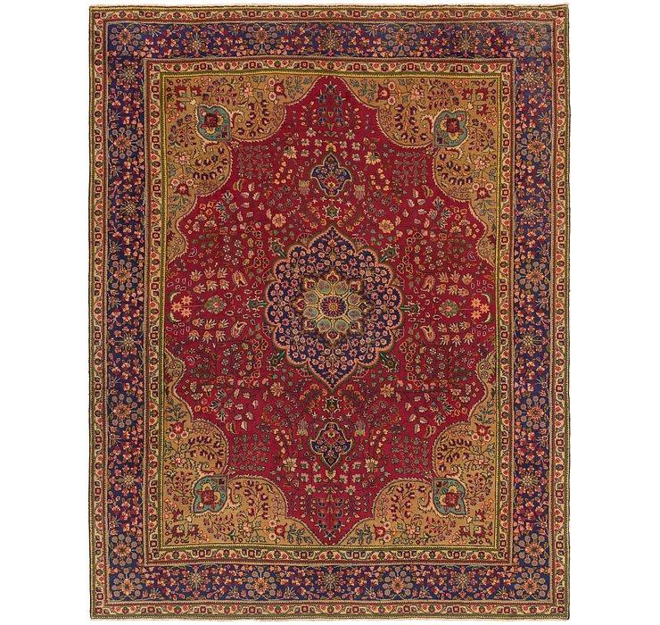9' 9 x 12' 4 Tabriz Persian Rug