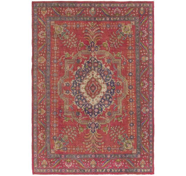 8' x 11' 6 Tabriz Persian Rug
