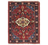 Link to 2' 2 x 3' Hamedan Persian Rug