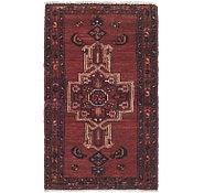 Link to 2' 6 x 4' 2 Hamedan Persian Rug